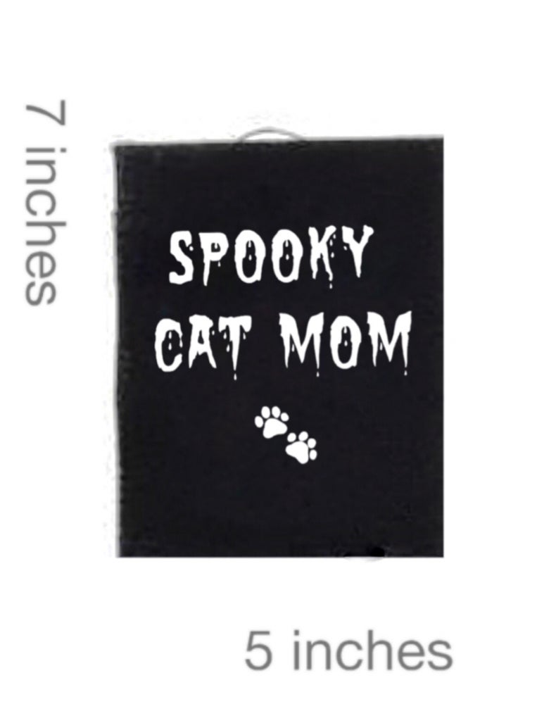 Image of Spooky Cat Mom Patch