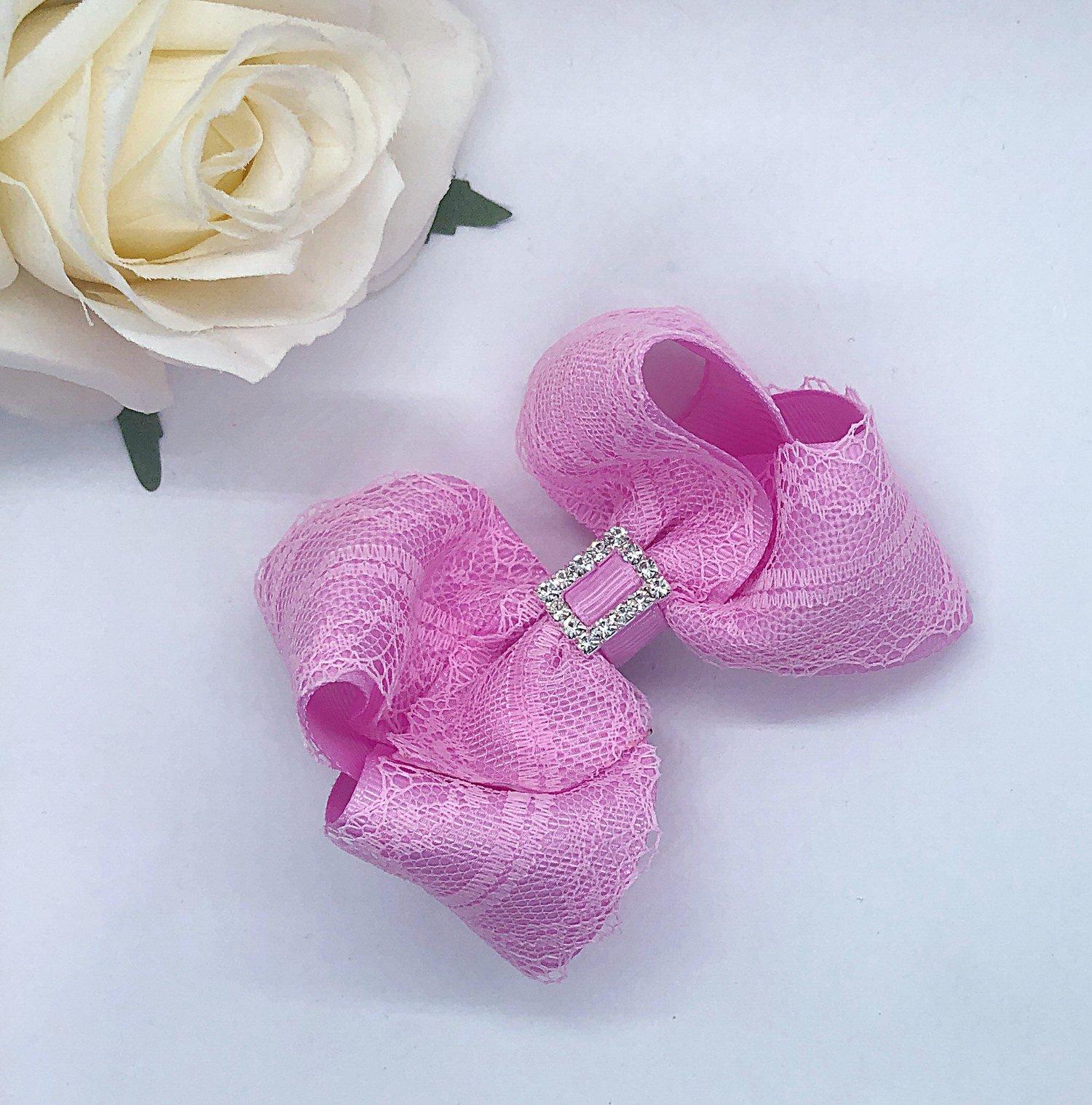 Image of Boutique lace classic bows