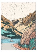 Image of Desolation Wilderness Print by Claire Scully