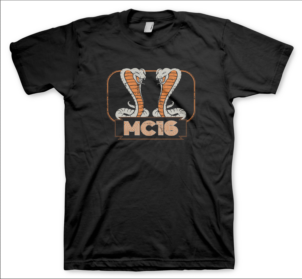 Image of MC16 - Cobra T-shirt