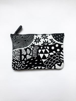 Image of Pattern Zip Bag