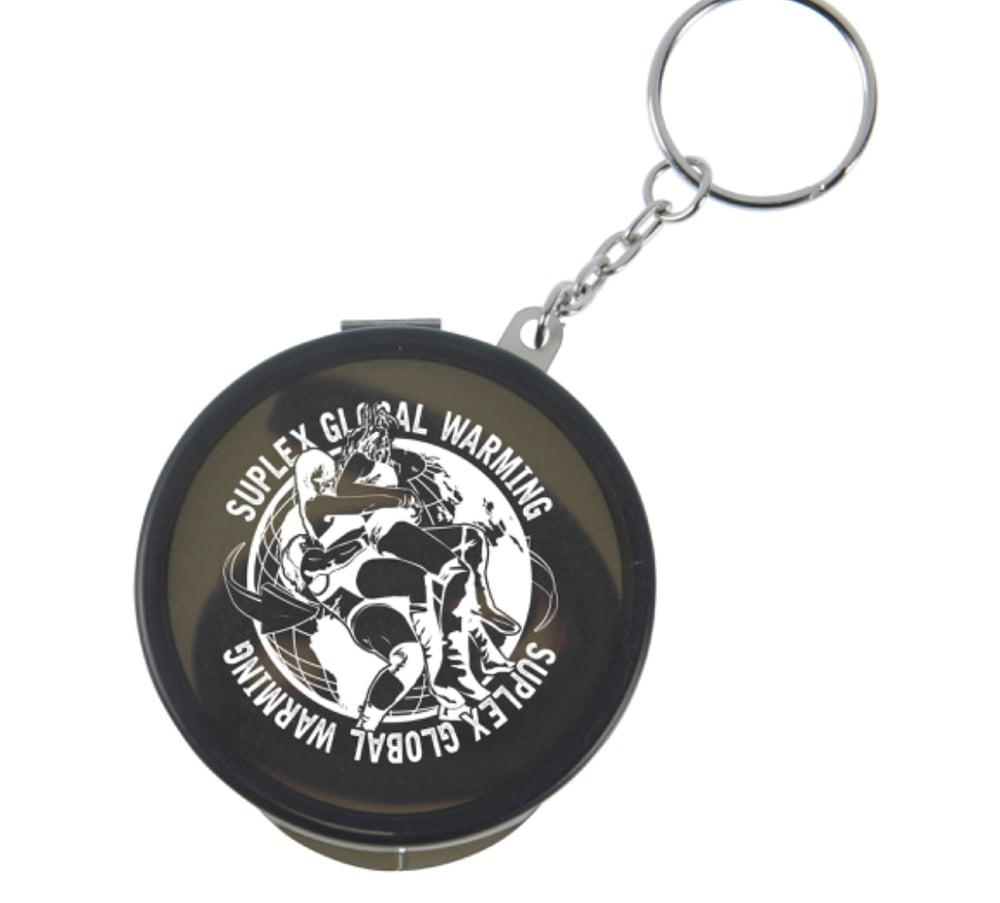 Image of Suplex Global Warming Straw Keychain