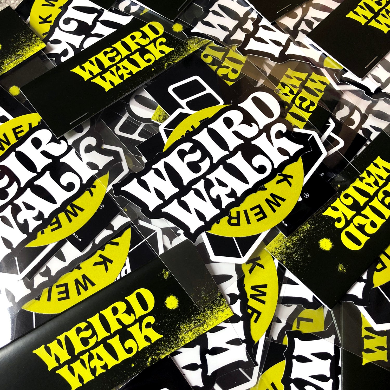 Image of Weird Walk Sticker Pack