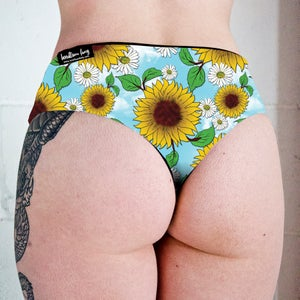 Image of Blue Skies Low Rise Twerk Thong Shorts