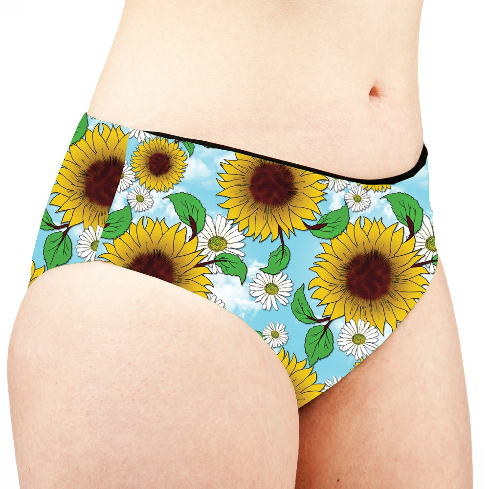 Image of Blue Skies Low Rise Cheeky Shorts