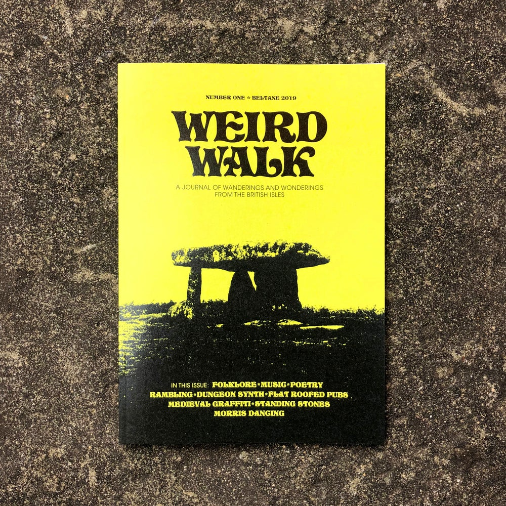 Image of Weird Walk Zine #1