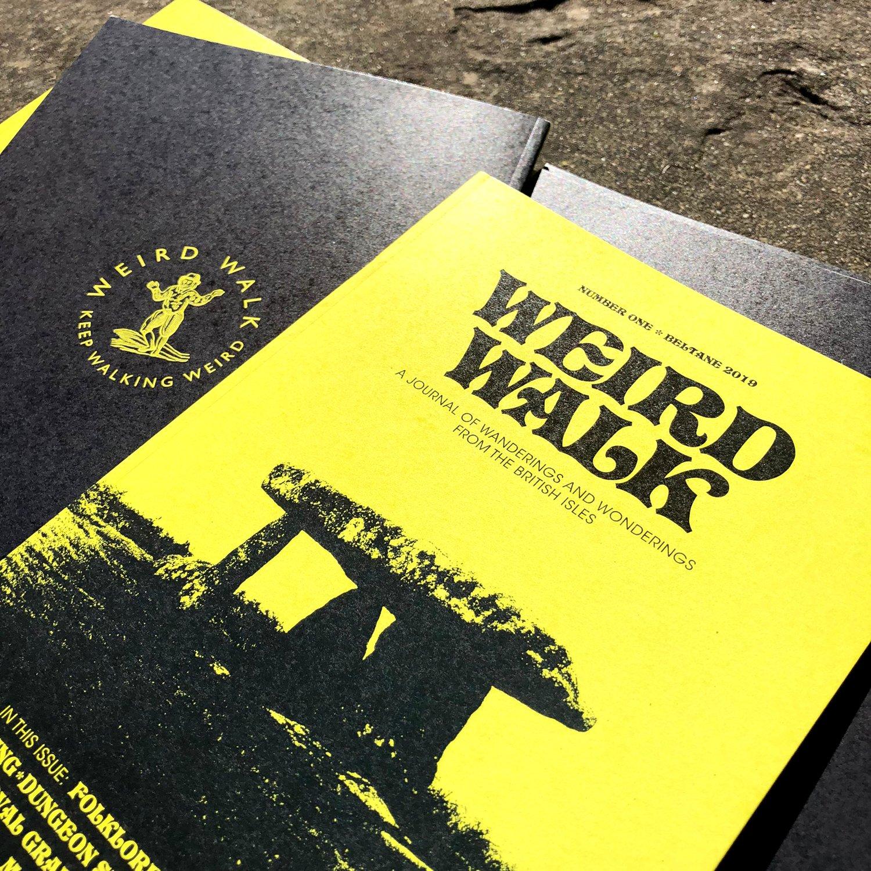 Image of Weird Walk Zine #1