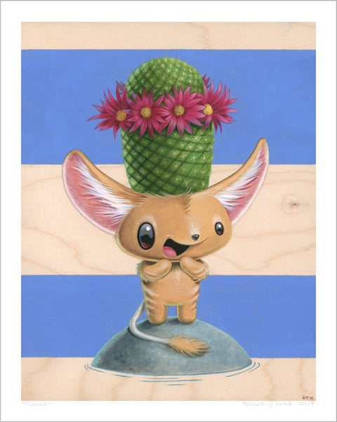 "Image of ""Fennec"" giclee"