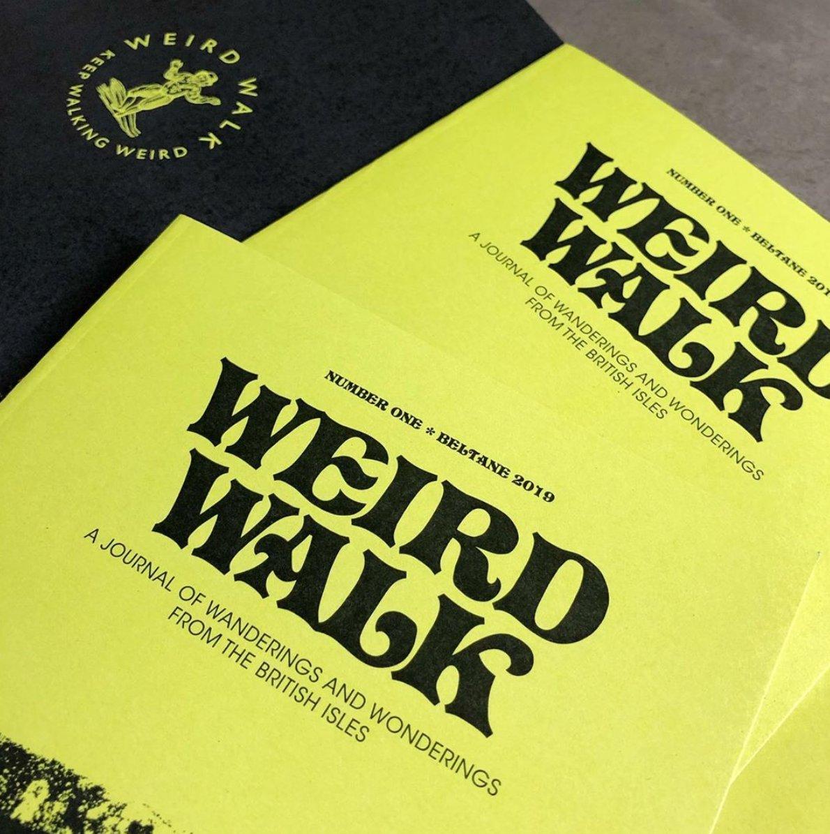 Image of Weird Walk Zine Logo T-Shirt