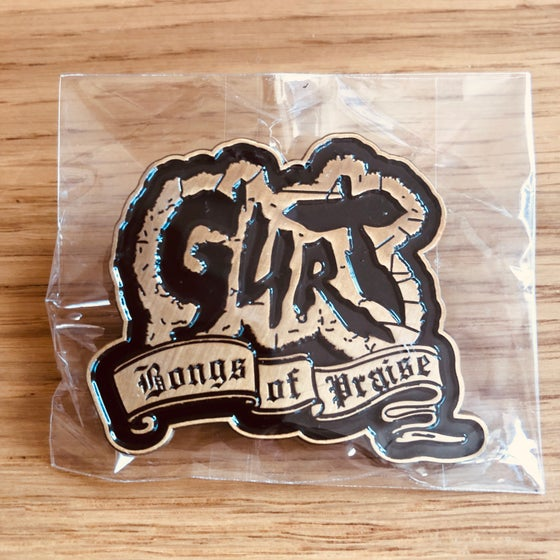 Image of BONGS OF PRAISE Pin and album discount code