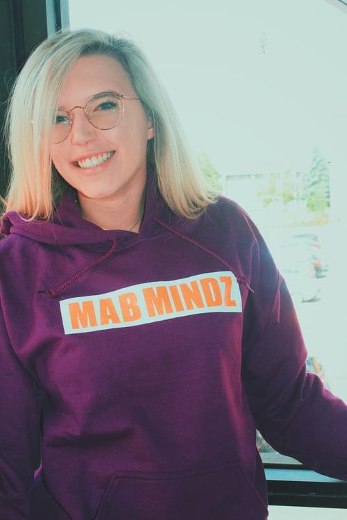 "Image of ""NEW"" BOX LOGO Purple Hoodie"