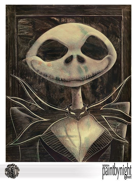Image of Jack Skelington Print