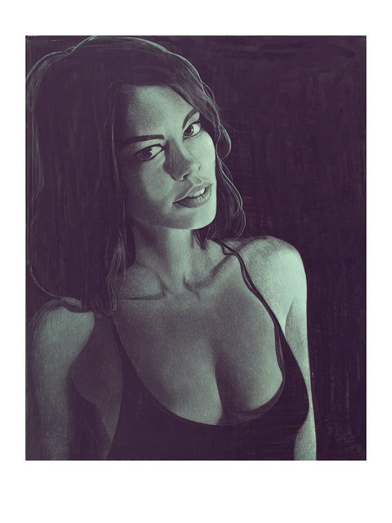 Image of Lauren Cohan Sexy Walking Dead print