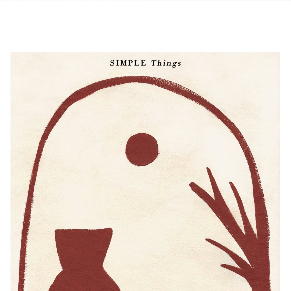"Image of ""SIMPLE THINGS"" ILLUSTRATION"