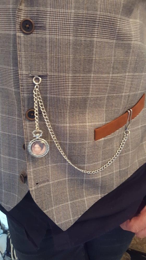 Image of Waist coat pocket photo chain