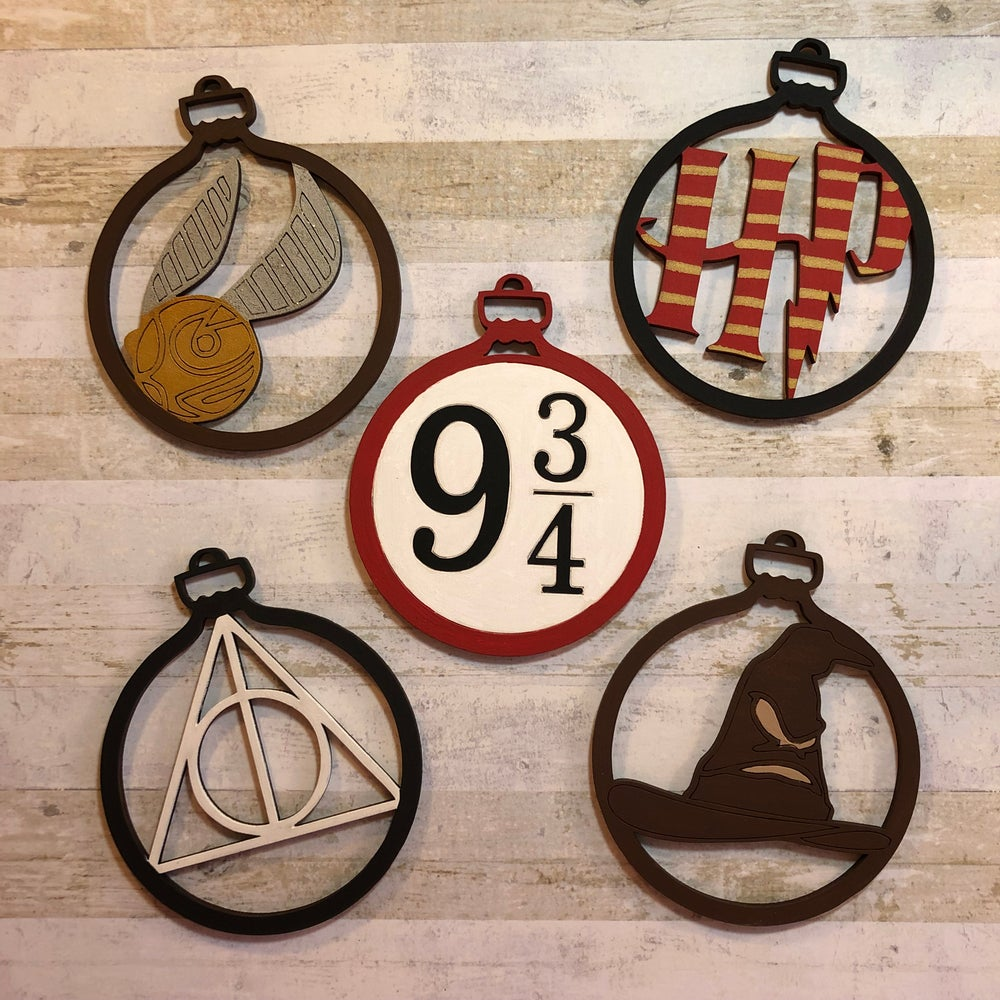 Image of Set of HP decorations