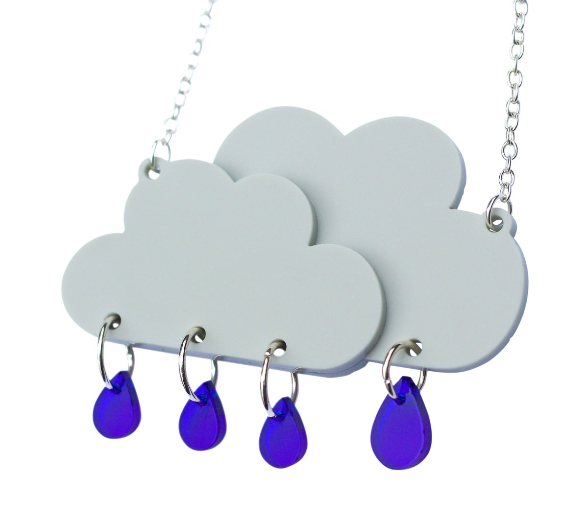 Image of Rain Cloud Necklace