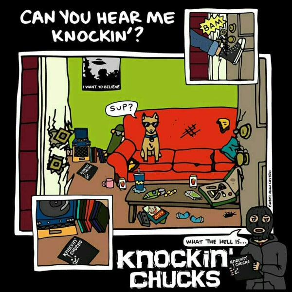 "Image of KNOCKIN' CHUCKS - CAN YOU HEAR ME KNOCKIN? (12"")"