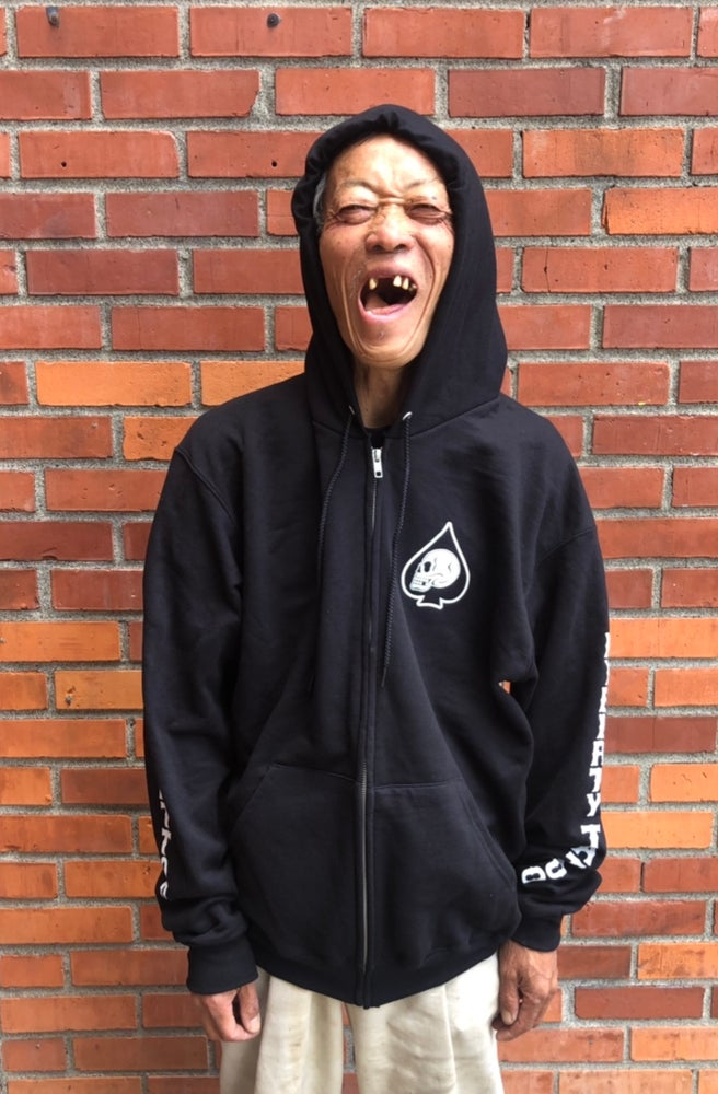 Image of Spade Zip Up Hoodie