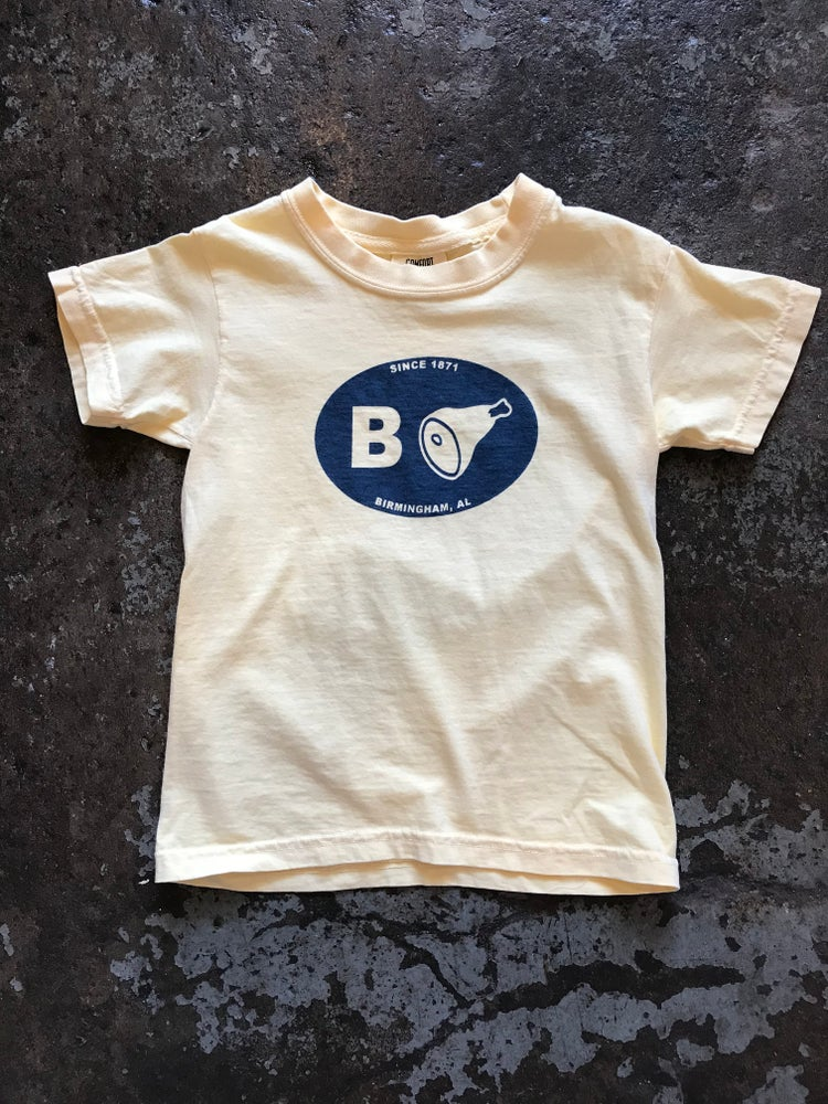 Image of B'ham Youth Tee - Butter