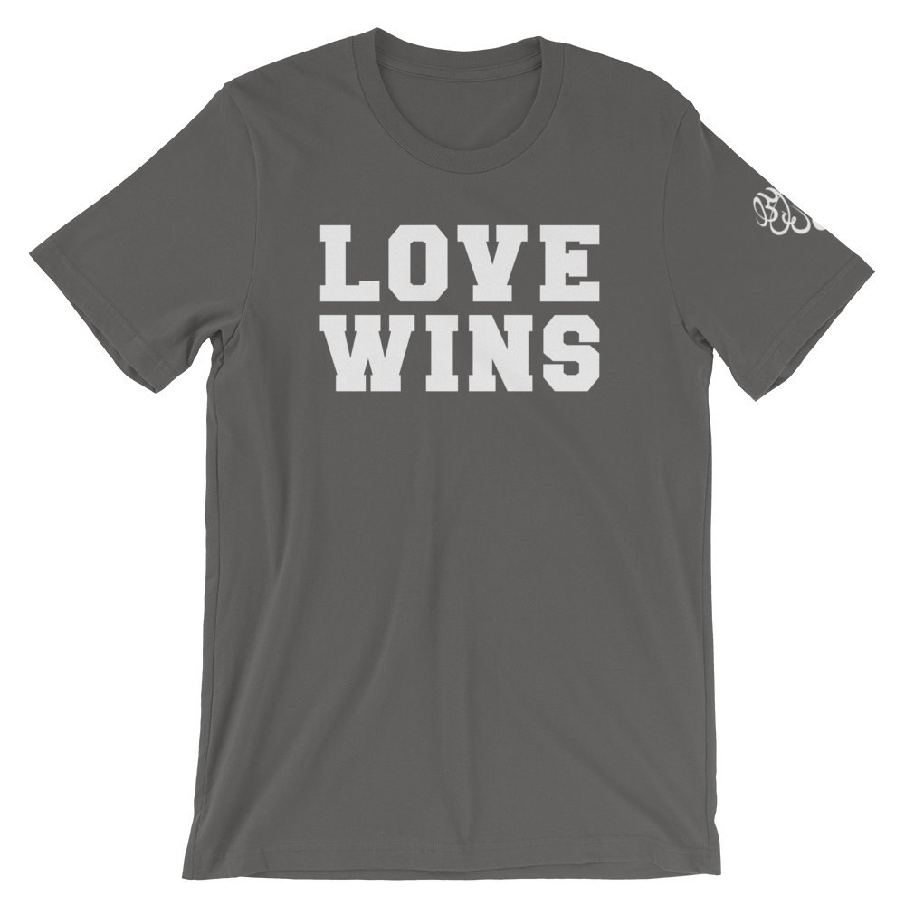 Image of LOVE WINS Grey