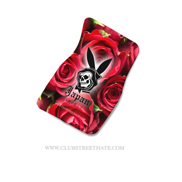 Image of Rose floor mats (made to order)