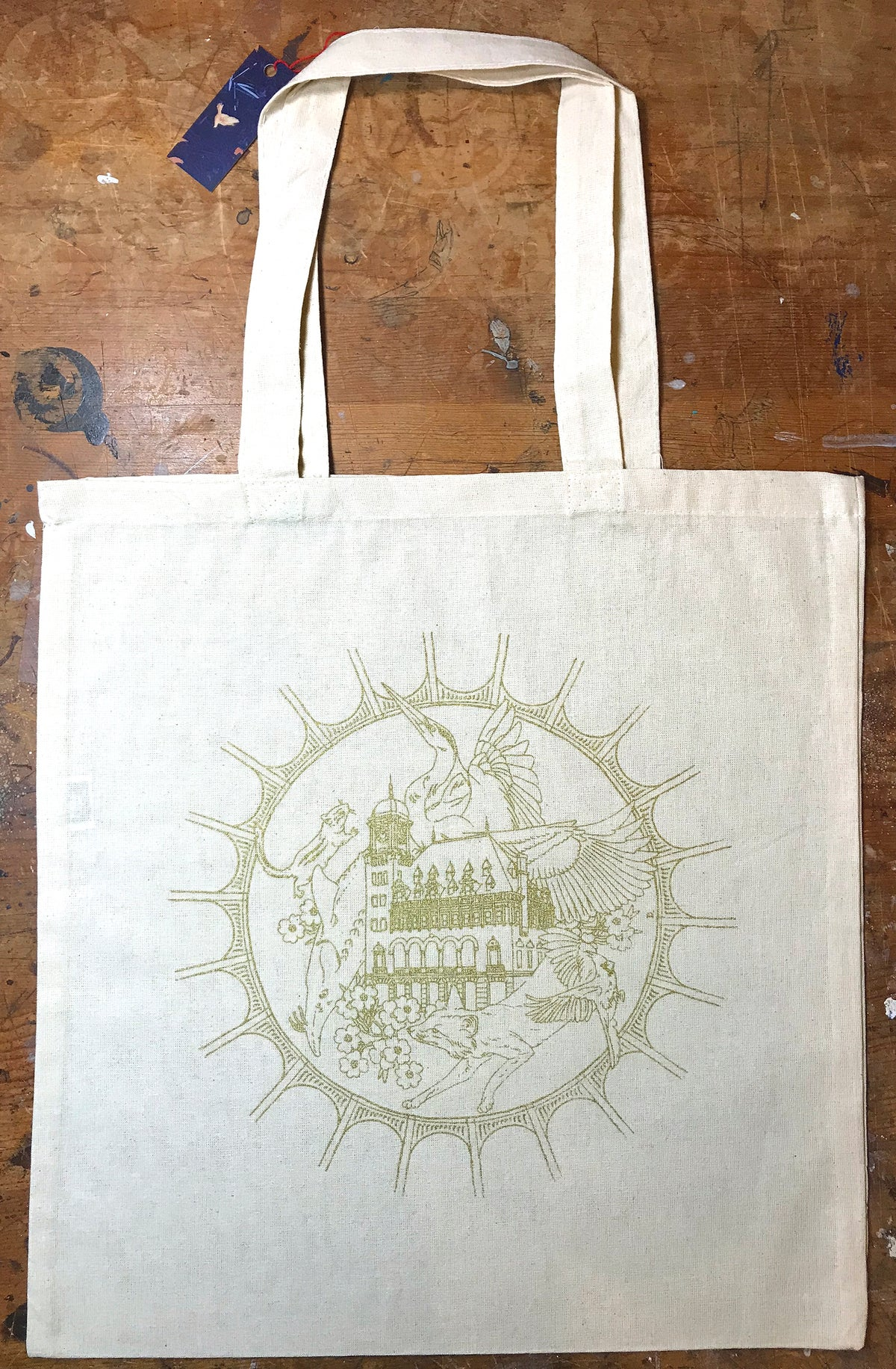 "Image of ""Richmond"" Lightweight Tote Bag (GOLD)"