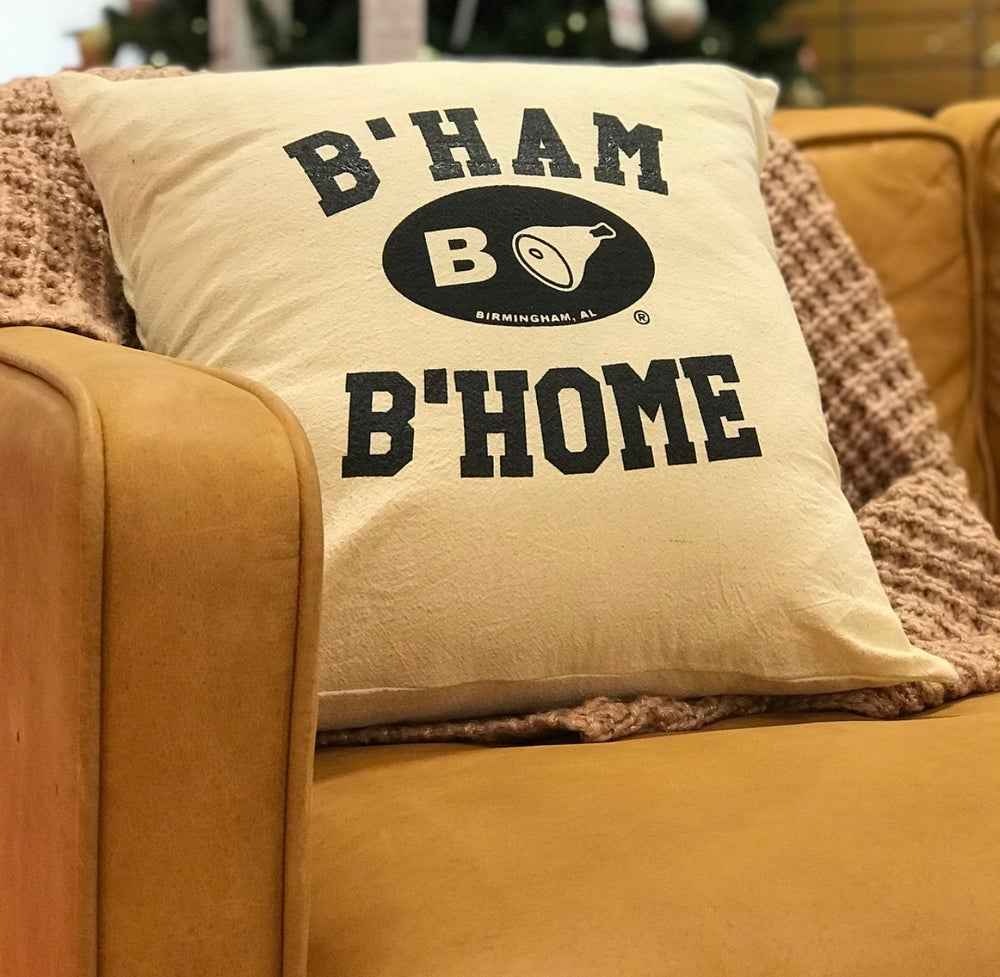 Image of B'ham B'home Pillow Cover (18x18)