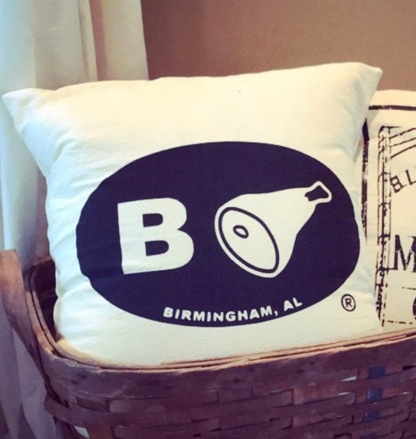 Image of B'ham Pillow Cover (18x18)