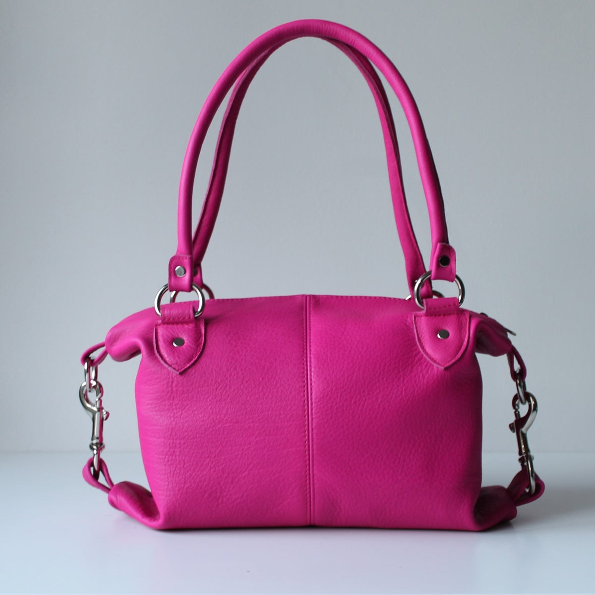 Image of Side Snap in Fuschia