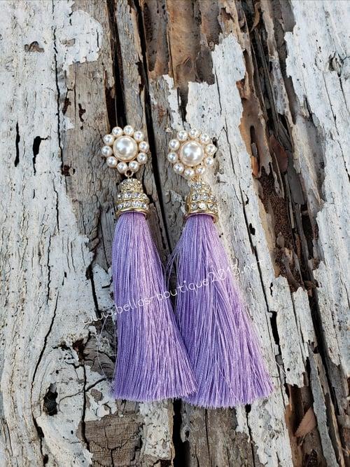 Image of Belinda Tassel Earrings