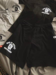 Image of BLACK GIGP$ 2 Piece Short Set