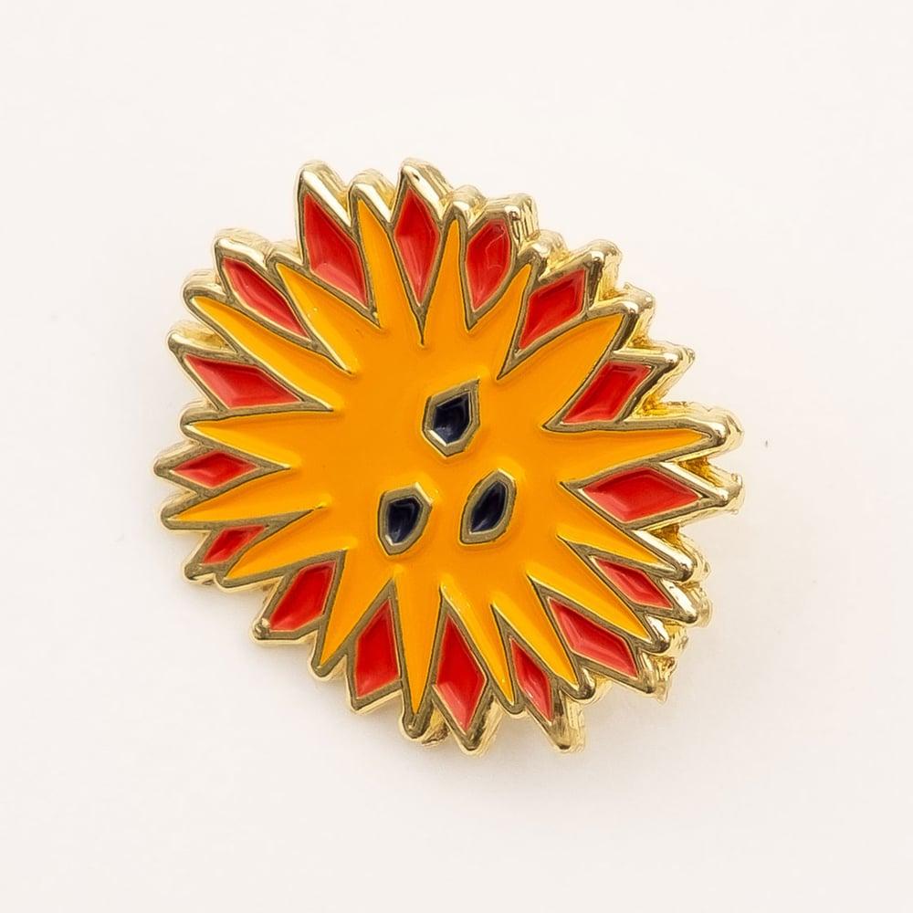 Image of Sun Sun Sun - enamel pin
