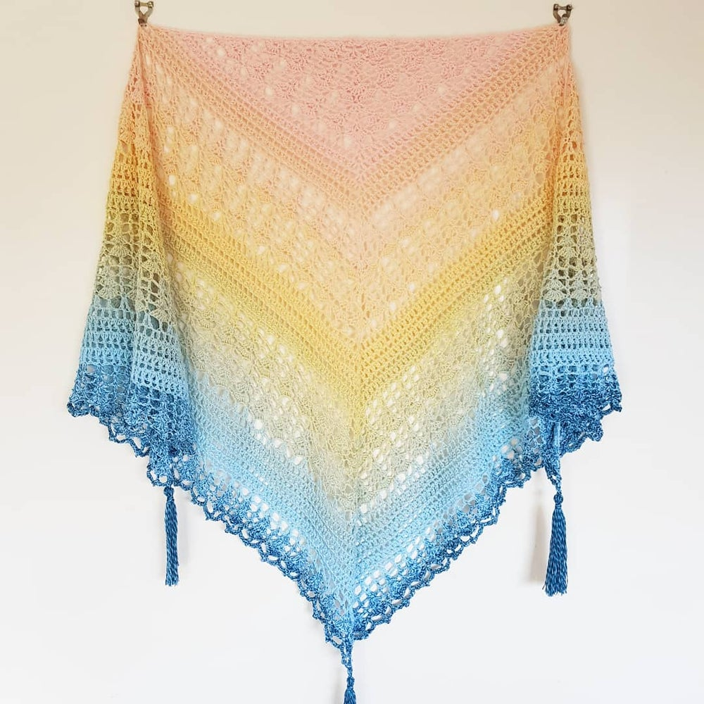 Image of Sunset Boulevard Shawl