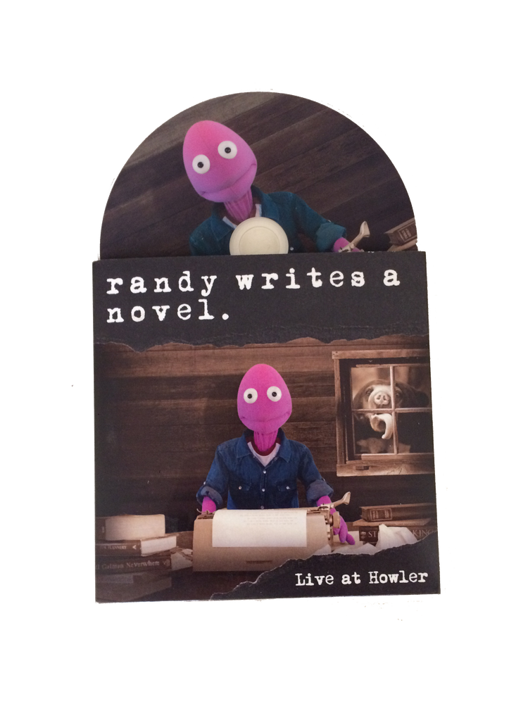 Image of Randy Writes a Novel DVD (signed)