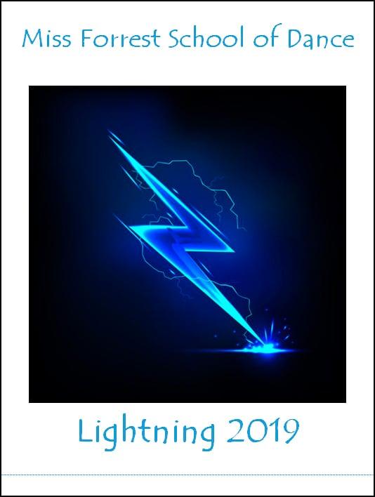 Image of Miss Forrest School of Dance - Lightning 2019 DVD