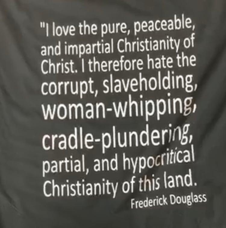 Image of I'M THAT FREDERICK DOUGLASS TYPE OF CHRISTIAN