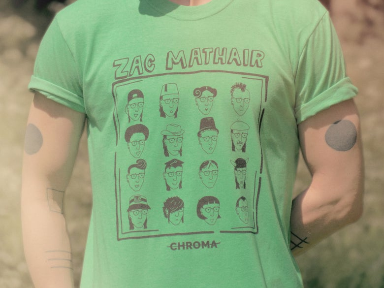 "Image of ""Zac Mathair"" Tees"