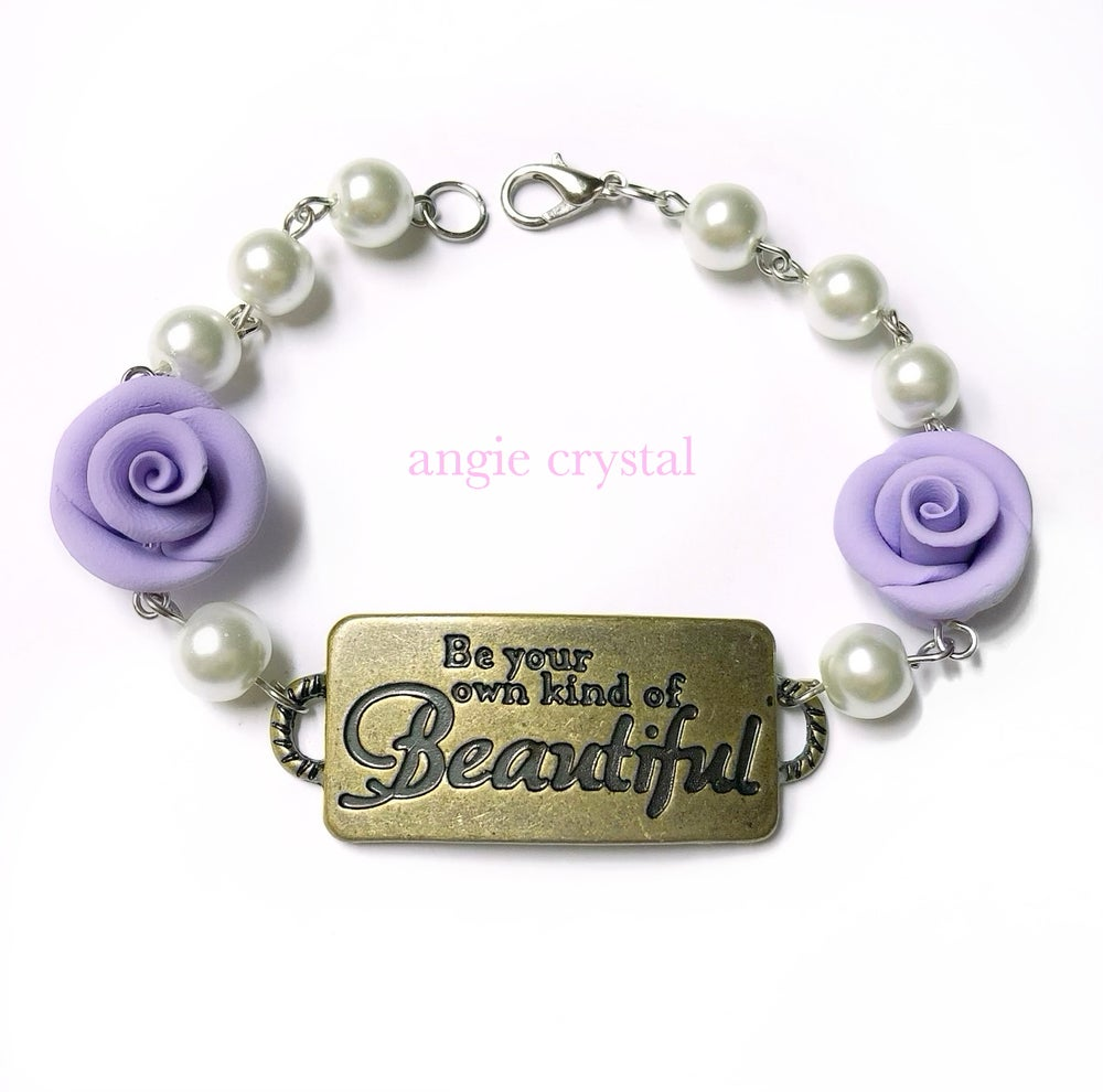 Image of Be Your Own Kind Of Beautiful Lavender Bracelet