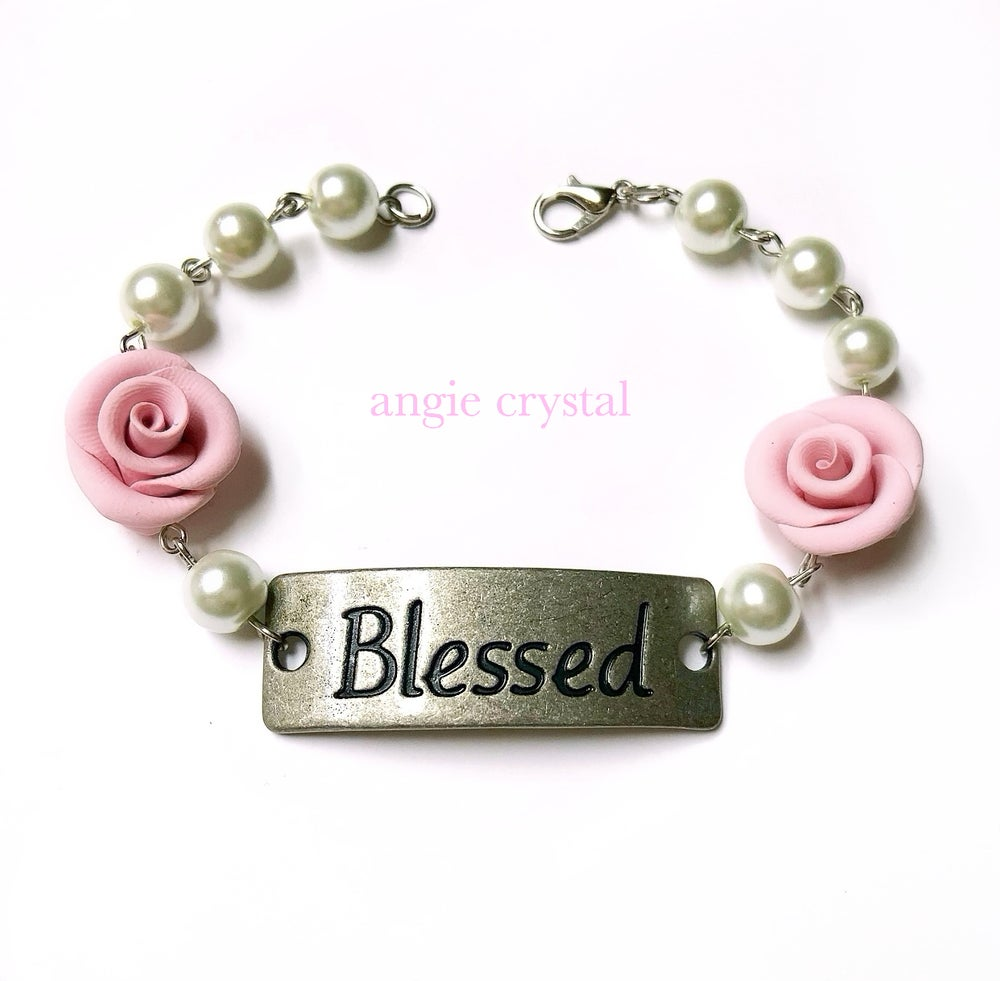 Image of Pink Blessed Bracelet