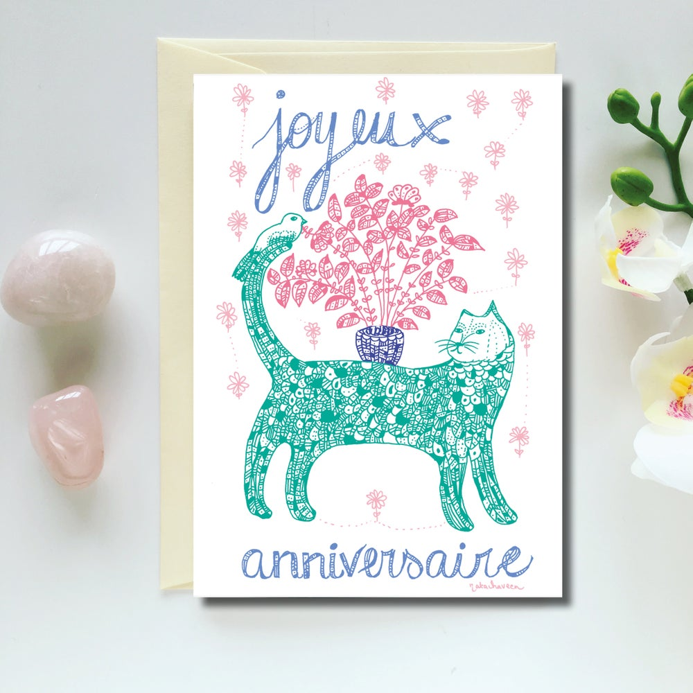 Image of Greeting Card *Joyeux anniversaire*
