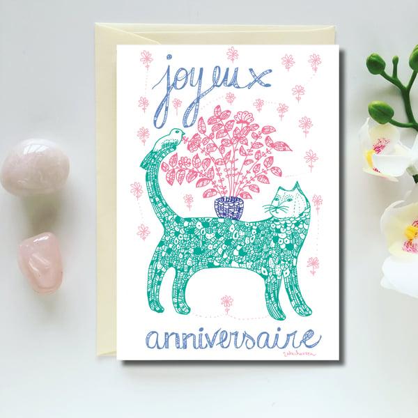 Image of Greeting Card *Joyeux anniversaire*