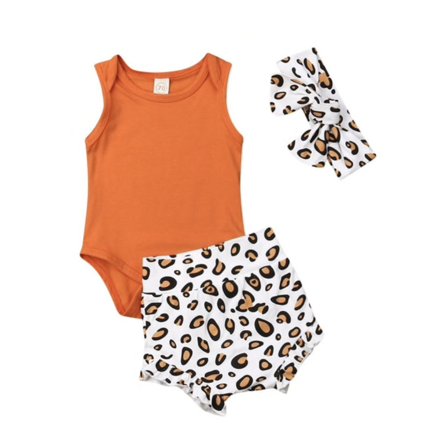 Image of Jesse Leopard Outfit