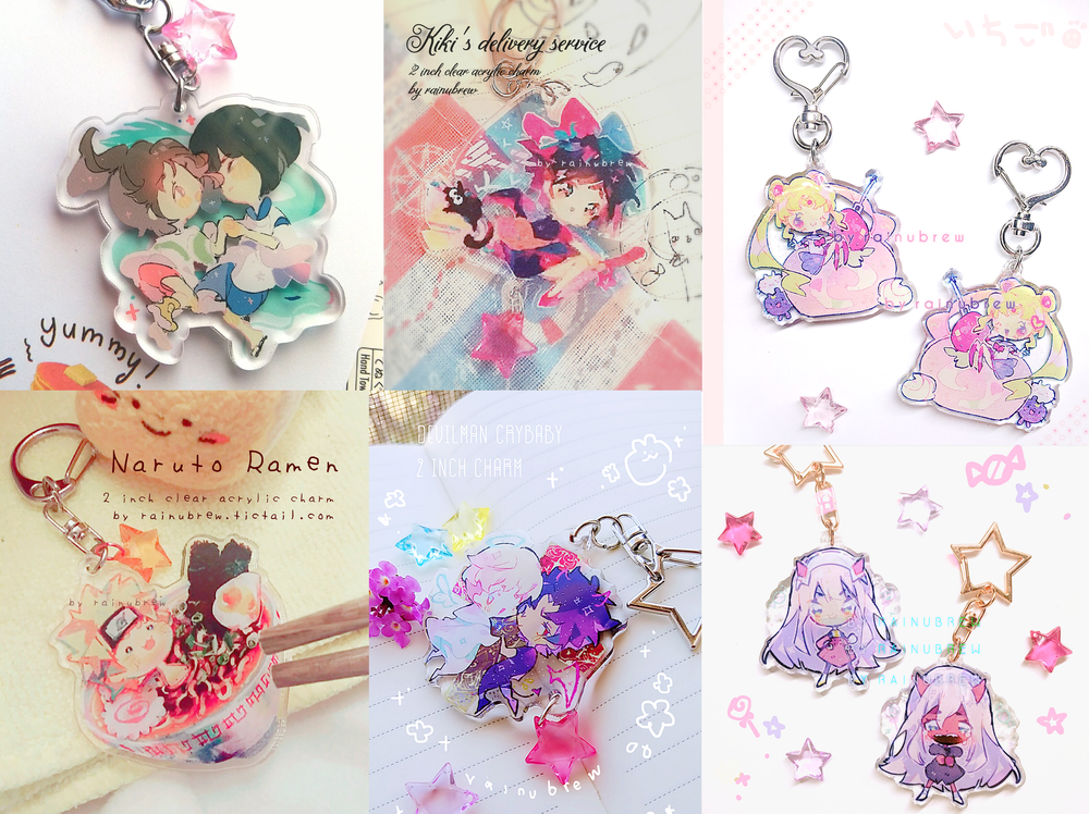 Image of Various Anime | 2 inch charm