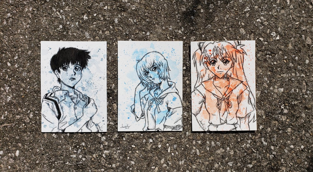 Image of Neon Genesis Evangelion Character set
