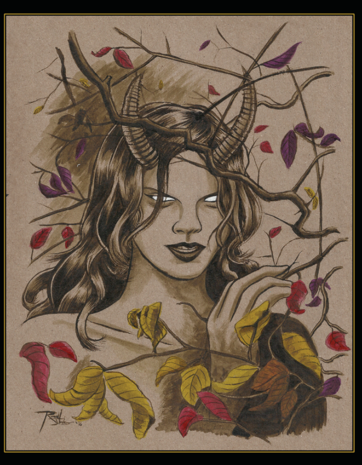 Image of Fall Witch