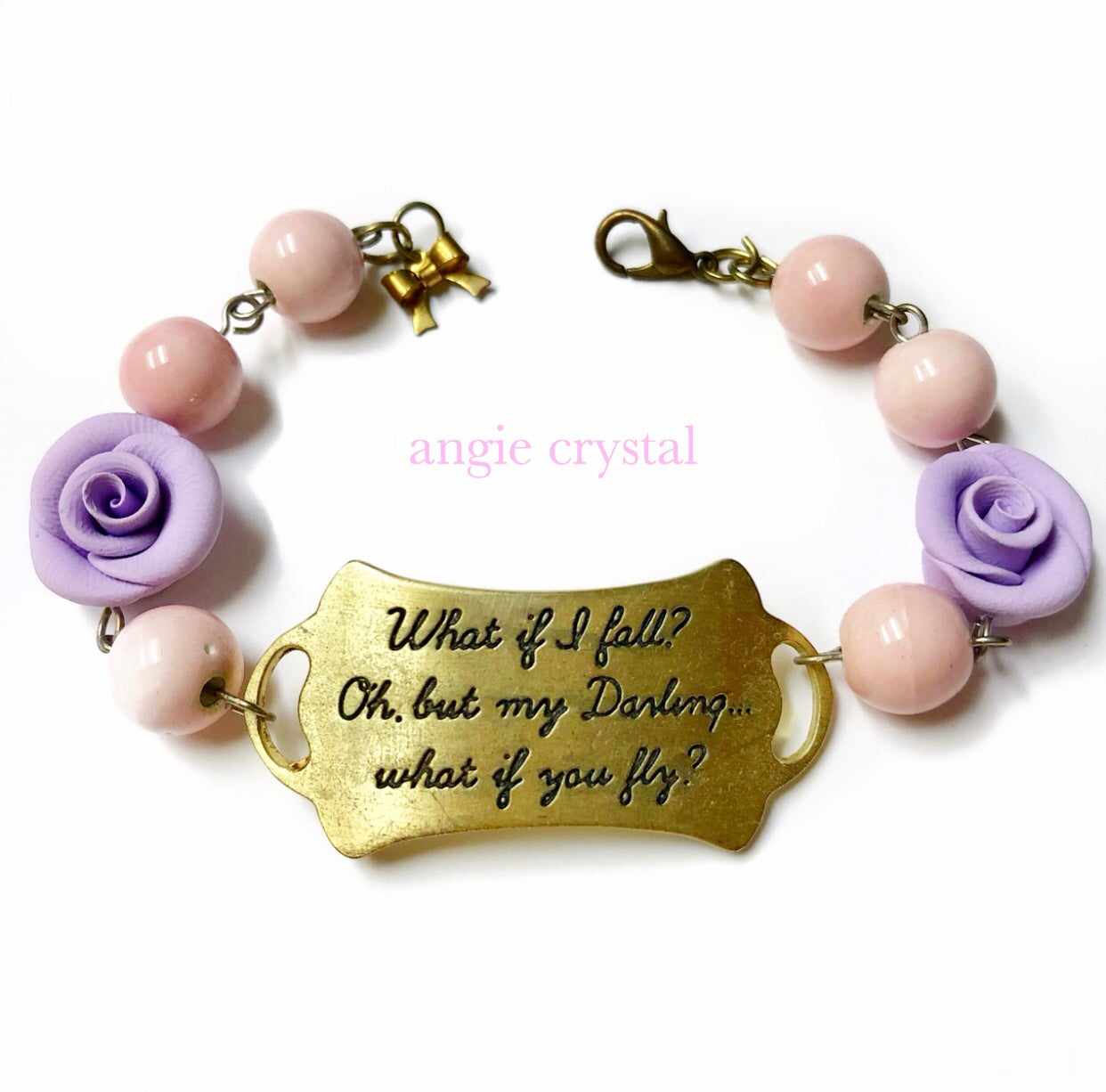 Image of What If You Fly Lavender Bracelet