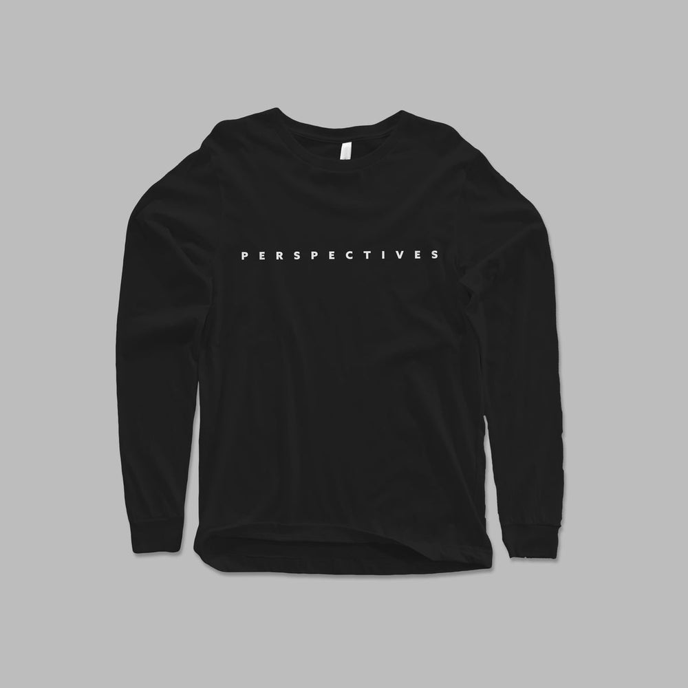 Image of 'PERSPECTIVES' LONGSLEEVE T SHIRT