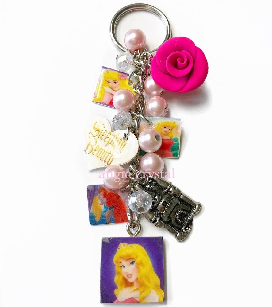 Image of Sleeping Beauty Key Chain