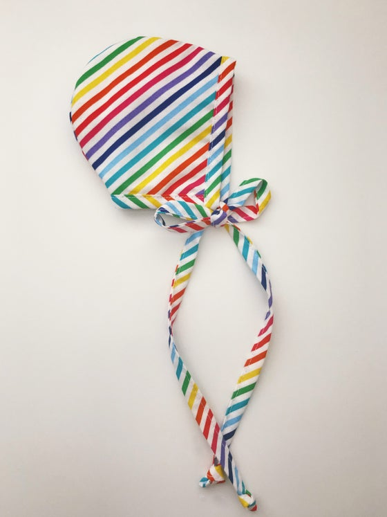 Image of The Rainbow Bright Bonnet